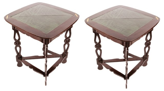 English Game Tables, Pair