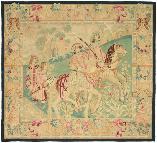19th-C. American Tapestry
