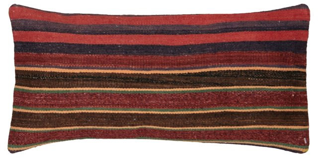 Horizontal Stripe Kilim Pillow Sham