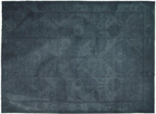 "Overdyed Turkish Carpet, 12'1"" x   17'"