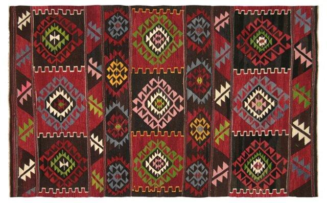 Anatolian  Kilim, 5' x  8'