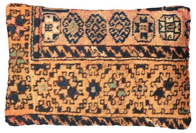 Oushak Rug  Fragment     Pillow