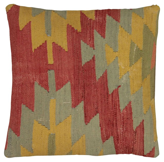 Multicolor Turkish Kilim       Pillow