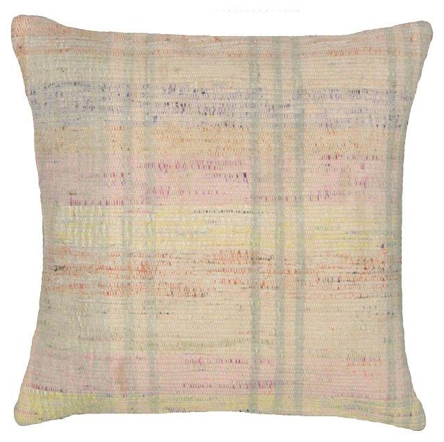 Adana Rag     Rug Fragment  Pillow
