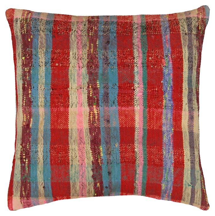 Striped Adana Rag       Rug Pillow