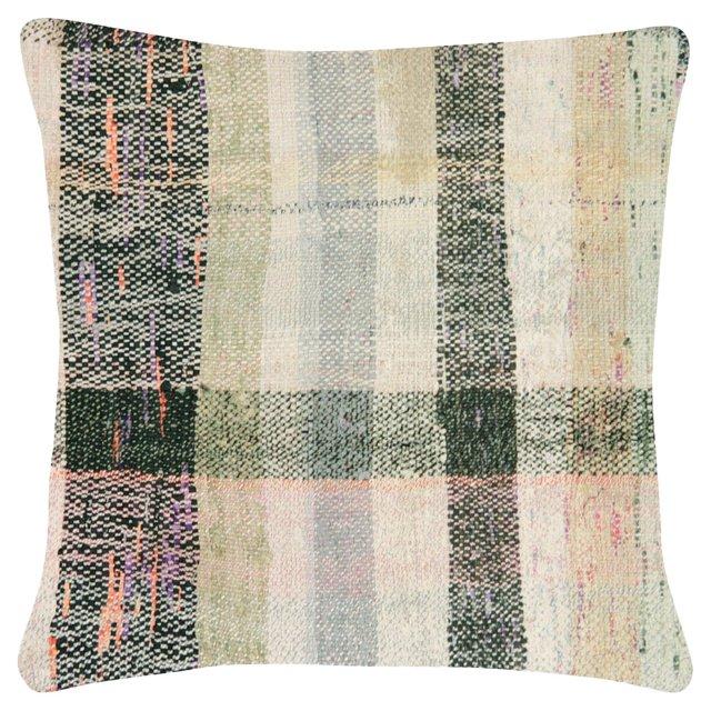 Turkish Rag        Rug Pillow