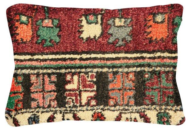 Multicolor   Oushak   Fragment Pillow