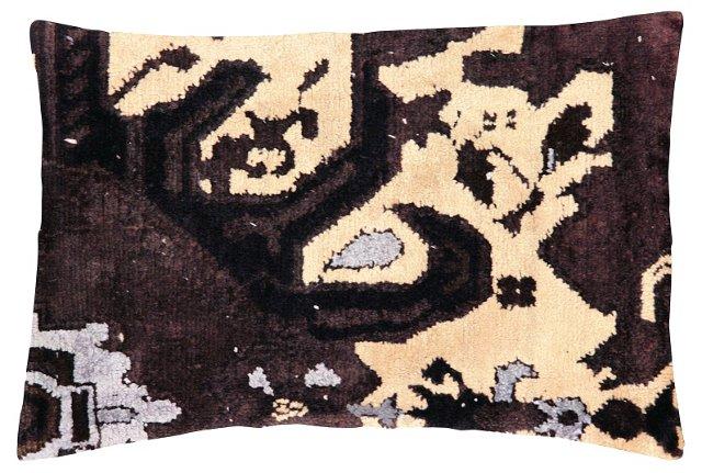 Aubergine  Oushak   Fragment Pillow
