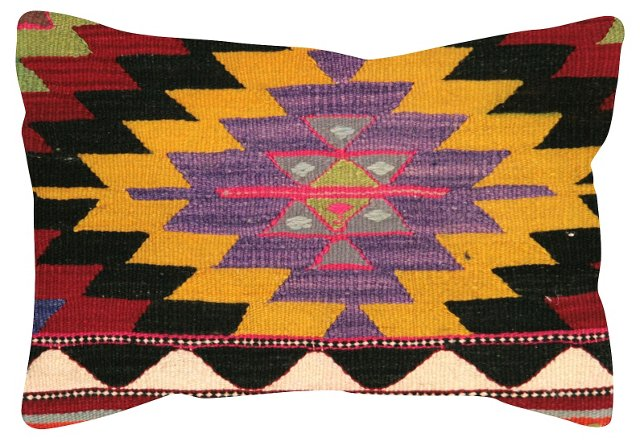 Geometric    Turkish Kilim   Pillow