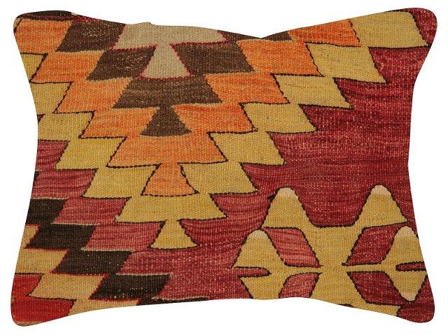 Geometric     Turkish   Kilim Pillow