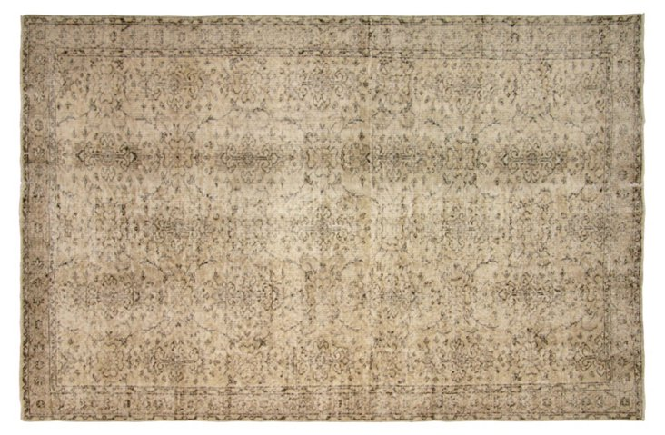 "Turkish Overdyed Rug, 5'8"" x 8'6"""