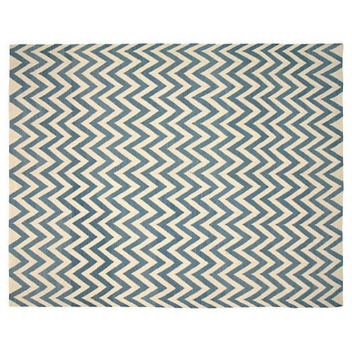 "Egyptian Kilim Carpet, 10' x 12'11"""