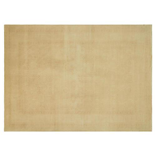 """Turkish Oushak Carpet, 9'11"""" x 13'10"""""""