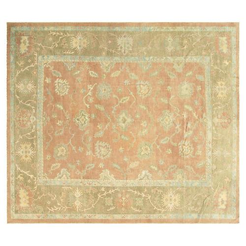"Anatolian Oushak Carpet, 12'1"" x 14'3"""