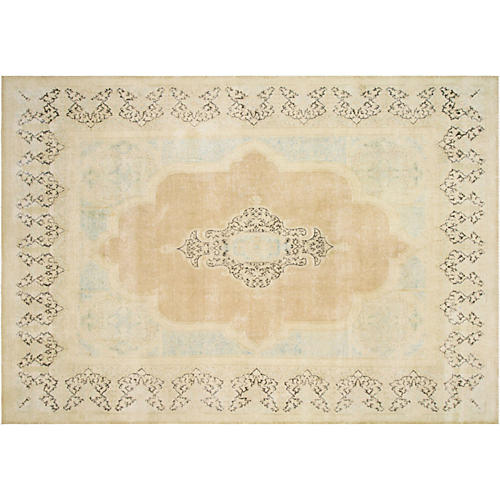 "Persian Distressed Carpet, 9'6"" x 13'6"""
