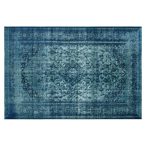 "Persian Overdyed Rug, 7'9"" x 12'1"""