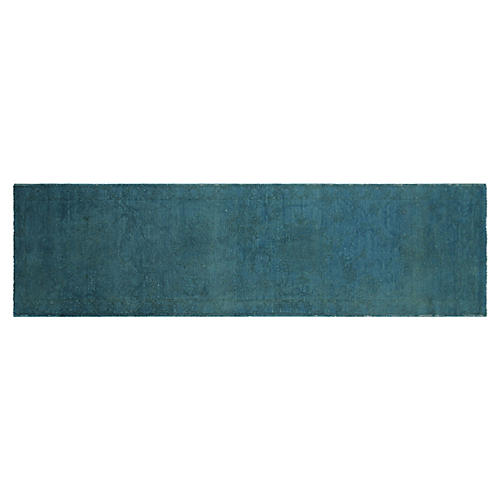 """Overdyed Sultanabad Runner, 2'9"""" x 11'2"""""""