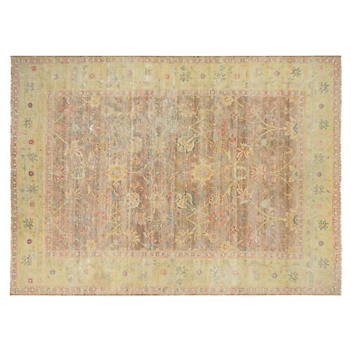 """Sultanabad-Style Carpet, 8'9"""" x 12'3"""""""