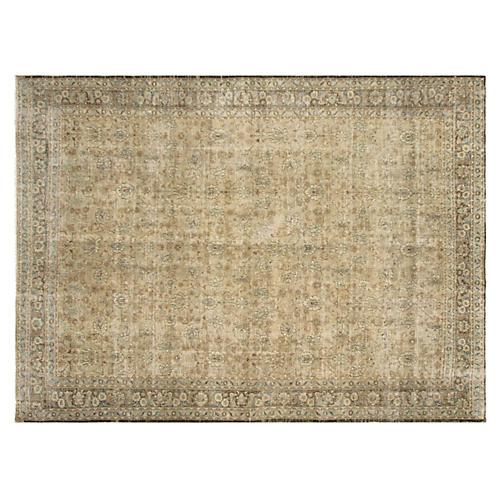 "Persian Mashad Carpet, 8'11"" x 12'3"""