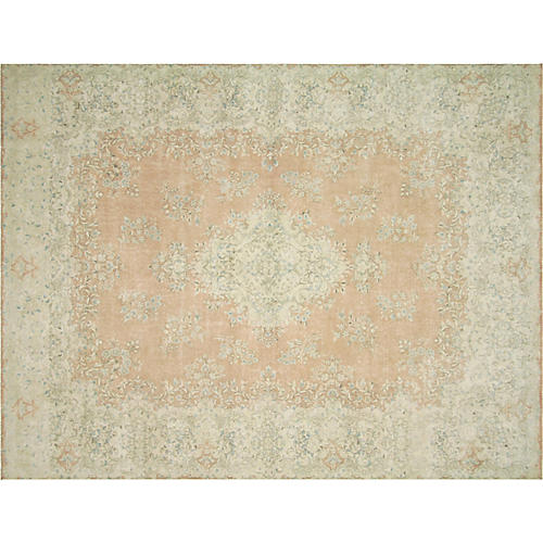 """Persian Kerman Carpet, 7'10"""" x 9'11"""""""
