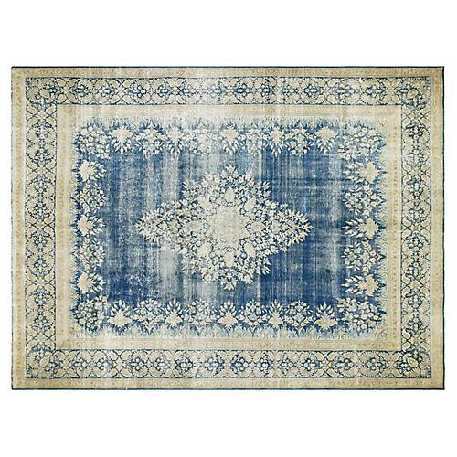 """Persian Kerman Carpet, 9'9"""" x 13'1"""""""