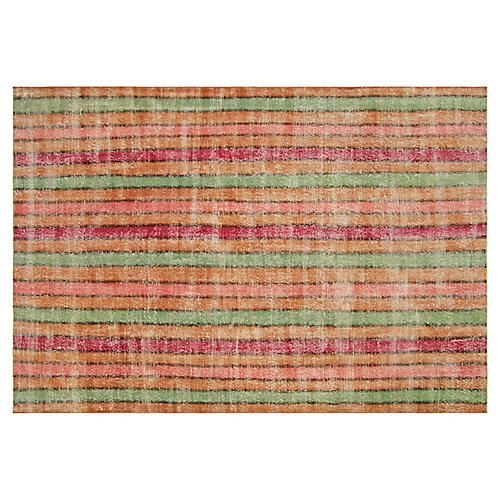 "1950s Turkish Zeki Müren Rug, 6'8""x10'3"""