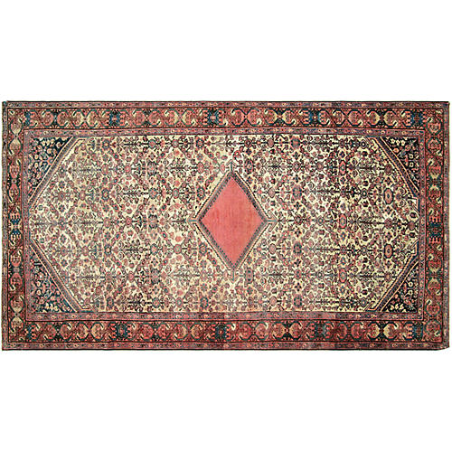 Persian Mahal Carpet, 5' x 9'11""