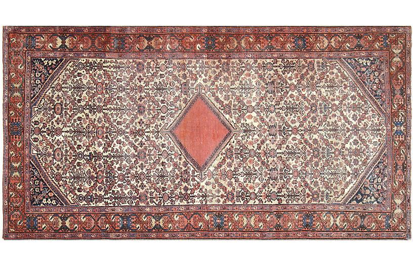 1930s Persian Mahal Rug, 5' x 9'11