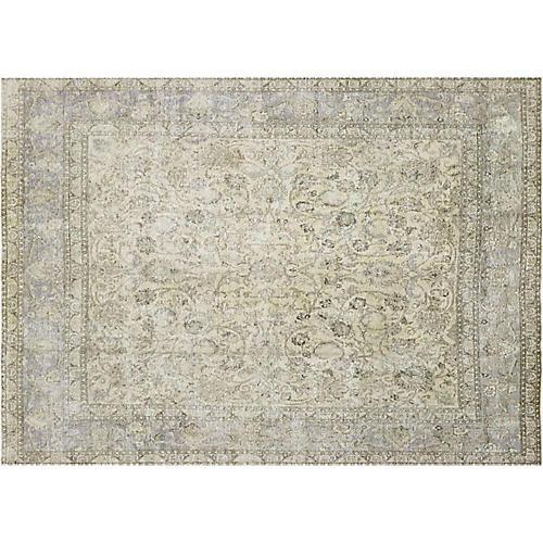 "1940s Persian Tabriz Carpet, 9'8"" x 10'"