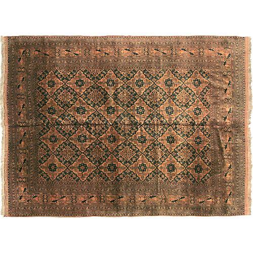"""Afghan Turkoman Carpet, 8'3"""" x 10'9"""""""