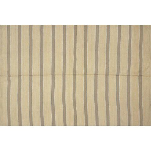 """Egyptian Striped Kilim, 6'6"""" x 9'7"""""""