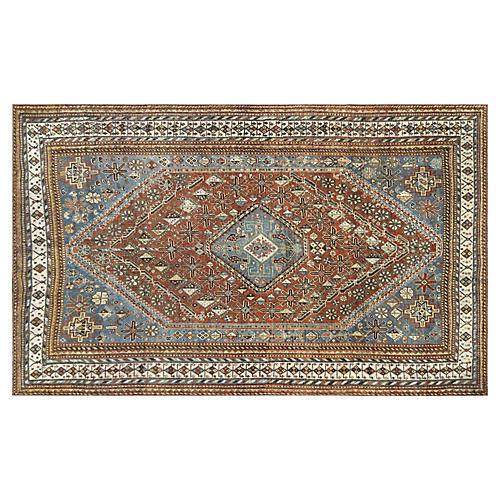 "1930s Persian Shiraz Rug, 5'2"" x 8'4"""