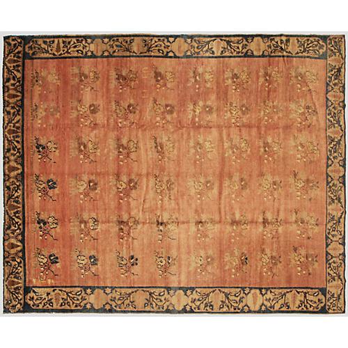 "1960s Turkish Oushak Carpet, 9'6"" x 12'"
