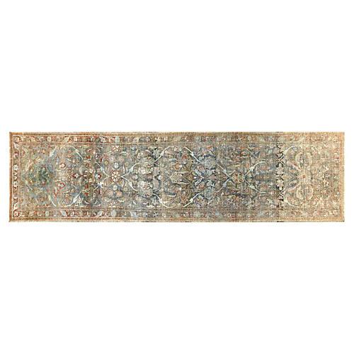 "1930s Persian Bakhtiari Rug, 3'6""x12'10"""