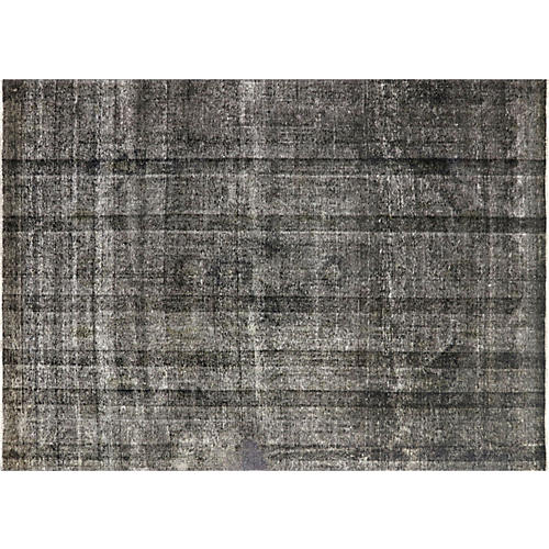 """1950s Overdyed Persian Rug, 8'1""""x11'1"""""""