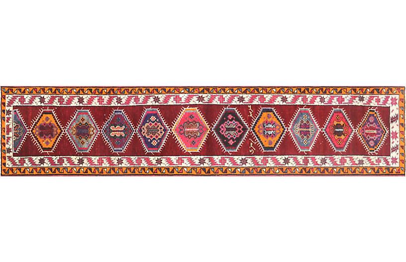 1960s Turkish Oushak Rug, 2'10
