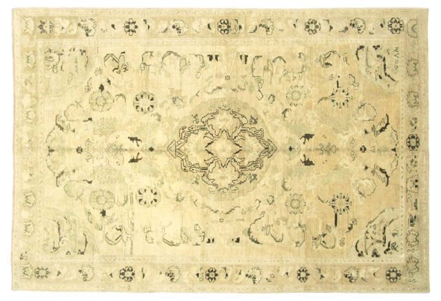 "Turkish Oushak Rug, 5'7"" x 8'5"""