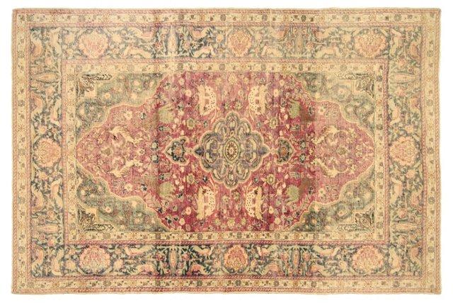 Turkish Oushak Rug, 4' x 6'