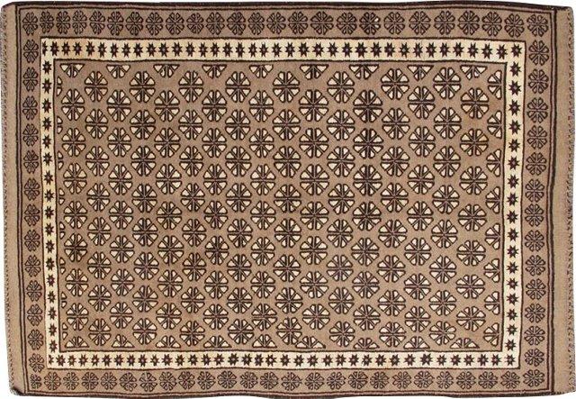 """Vintage Moroccan Rug,  5'4"""" x 8'3"""""""