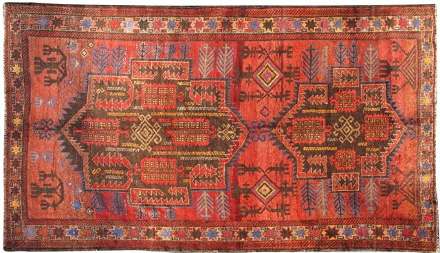 "Persian Shiraz, 4'8"" x 8'1"""