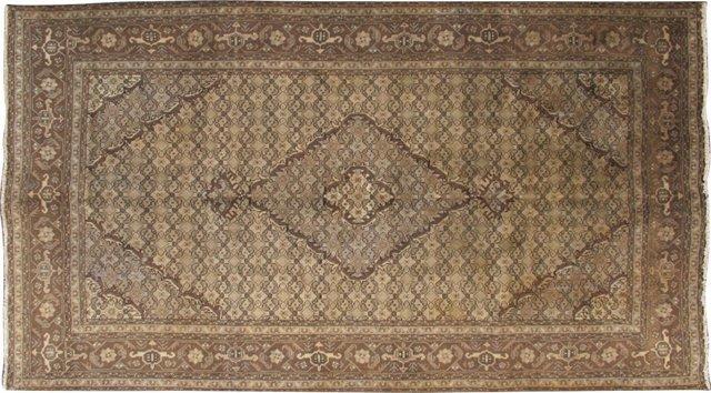 """Persian Tabriz, 6'4"""" x 9'5"""""""