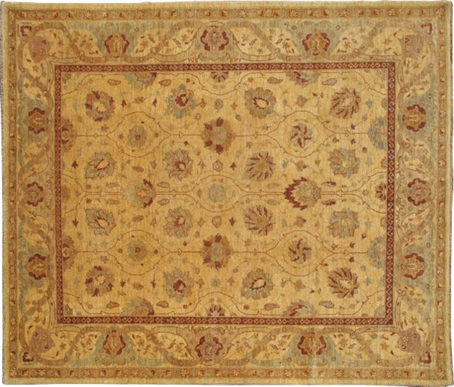 """Sultanabad-Style Rug, 8'2"""" x 5'4"""""""