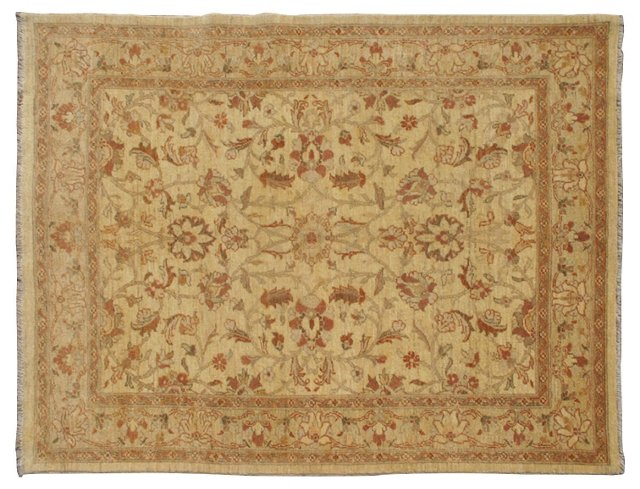 "Sultanabad-Style Rug, 5'1"" x 6'11"""