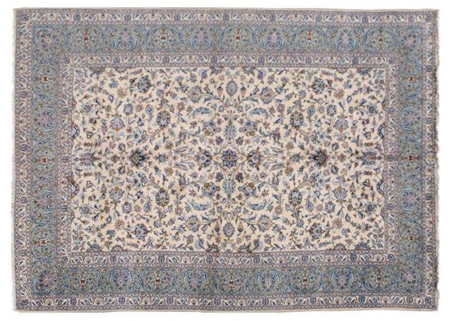 """Persian Kashan, 7'6"""" x 10'2"""""""