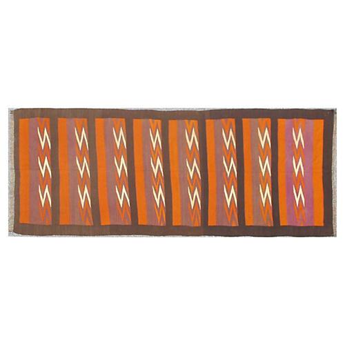 Long Tribal Gallery Kilim, 6' x 14'