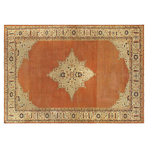 "Antique Sultanabad Rug, 10'2"" x 14'5"""