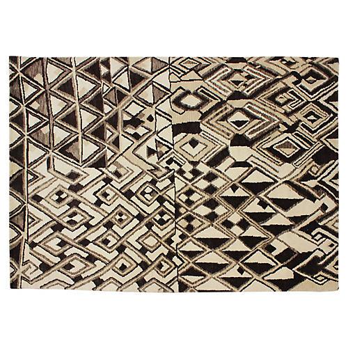 Moroccan Design Rug, 6 x 9