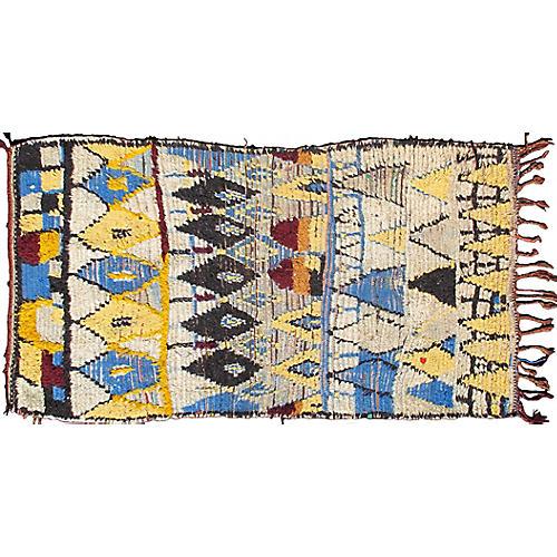 Moroccan Rug, 3'3 x 6'