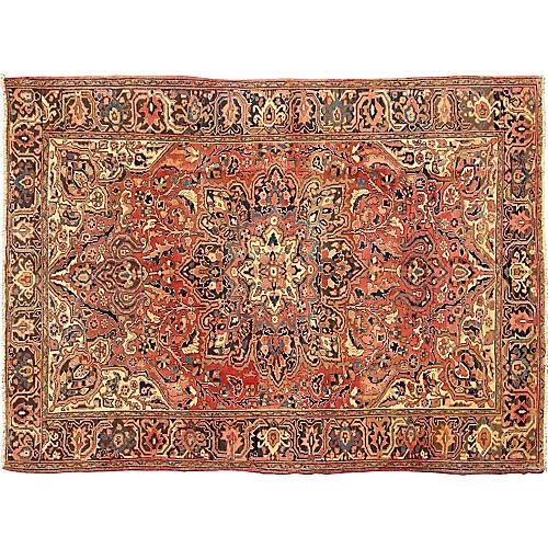 Persian Heriz Rug, 8'1 x 11'1