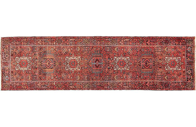 Persian Karajeh Runner, 4' x 14'11